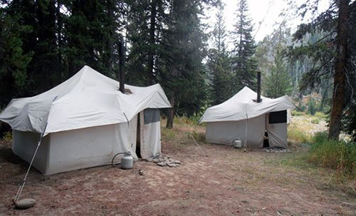 Wyoming Hunting Camp