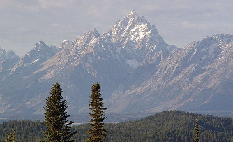 The Grand Teton, Wyoming