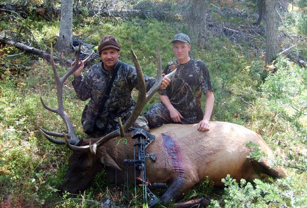 Elk Hunting in Wyoming