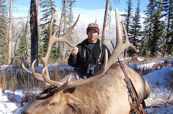 Hunting Elk in Wyoming