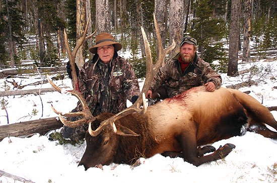 Wyoming's Best Elk Hunting