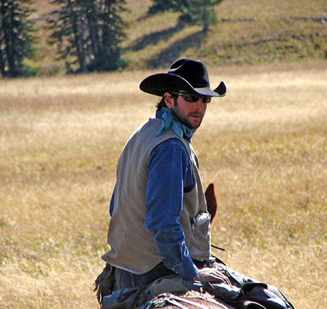 Wyoming Outfitter and Wolverine Creek owner, Ryan Lakovitch