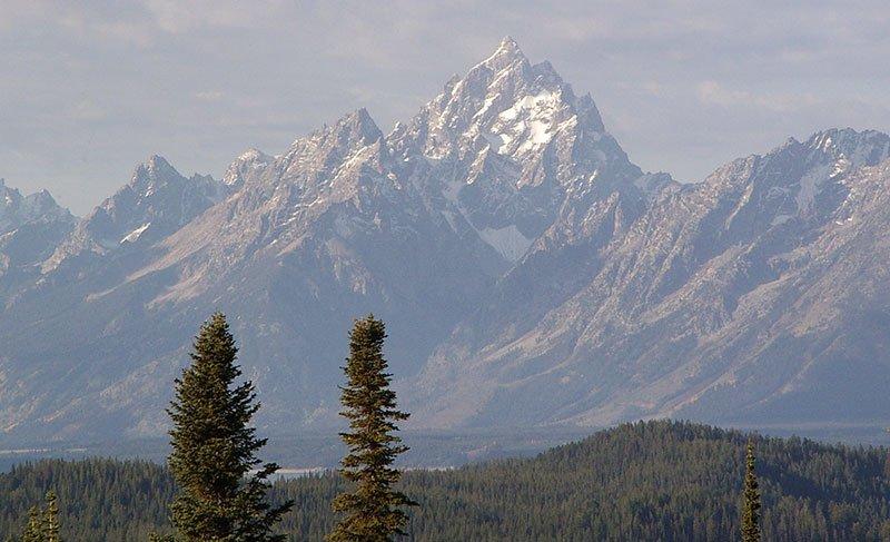 The Grand Teton, Wyoming